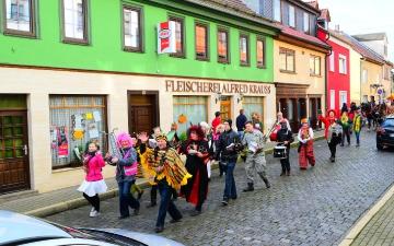 Faschingsumzug Bad Blankenburg