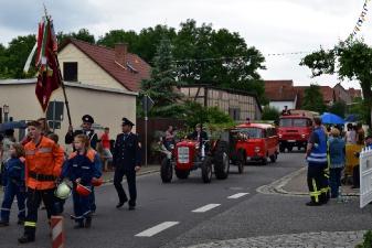 Festumzug Mühlberg (Drei Gleichen)